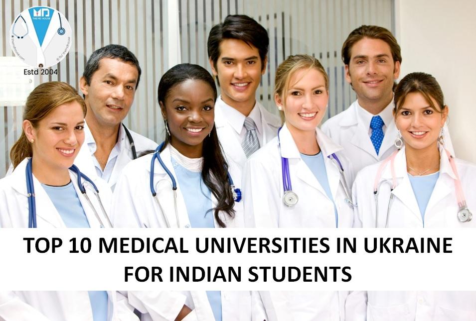 op 10 Medical Universities in Ukraine